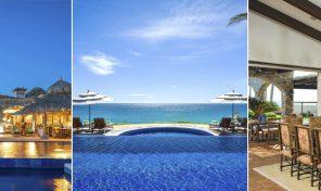 VILLA ESTERO: 5 bedrooms, Ocean front, Puerto Los Cabos